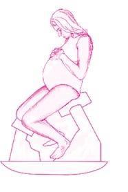 stołeczek ciążowy